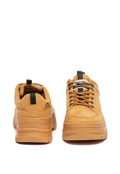 MTNG Спортни обувки от еко велур с масивен ток Жени