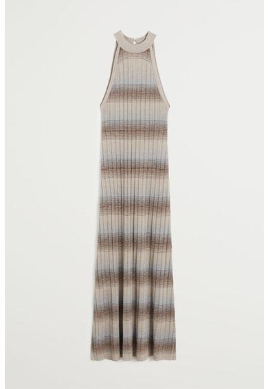 Mango Раирана среднодълга рокля Sahara Жени