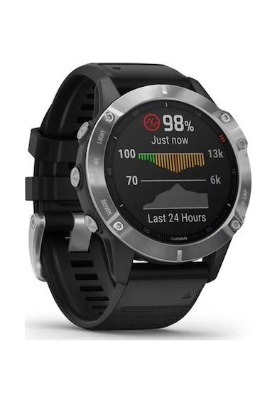 Garmin Ceas Smartwatch  Fenix 6, 47 mm, Silver/Black Femei
