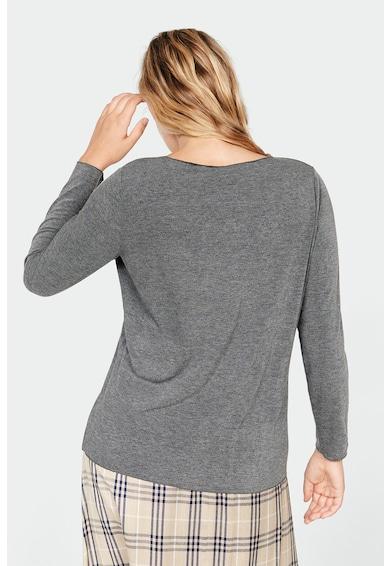 VIOLETA BY MANGO Bluza din tricot fin cu decolteu en-coeur Fabiola Femei