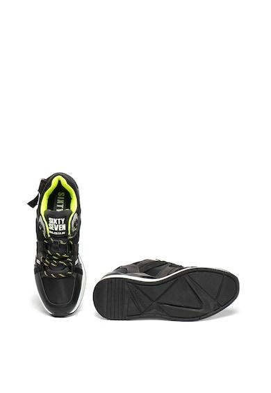 sixtyseven Pantofi sport wedge de piele Femei