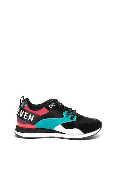 sixtyseven Pantofi sport cu model colorblock si insertii de piele intoarsa Femei