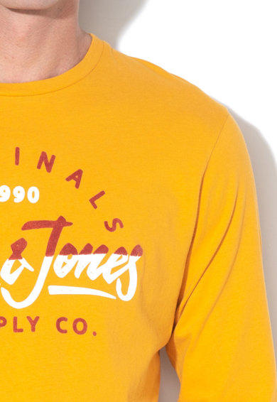Jack&Jones Bluza regular fit, cu imprimeu logo Mirror Barbati
