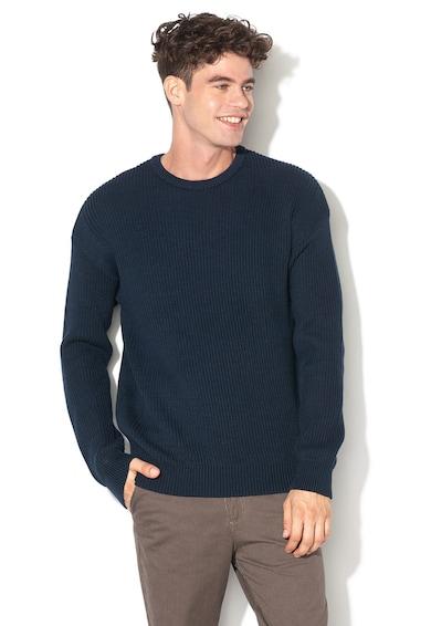 Jack&Jones Pulover din tricot cu garnituri striate Spencer Barbati