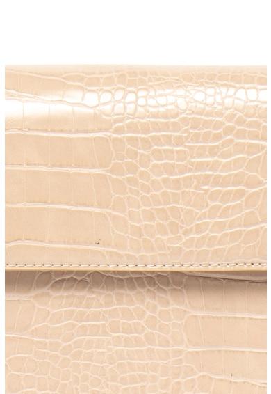 Pieces Geanta de umar, cu model piele de reptila Julie Femei