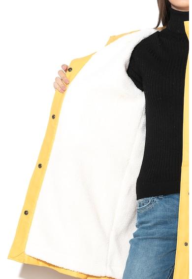 Only Pelerina de ploaie cu captuseala de blana shearling sintetica Vanessa Femei