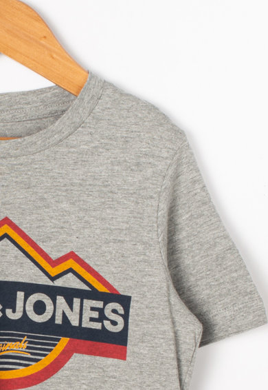 Jack&Jones Tricou din bumbac, cu imprimeu grafic Dorsey Baieti