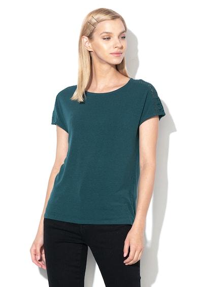 Vero Moda Bluza cu insertii de dantela Sangallo Celena Femei
