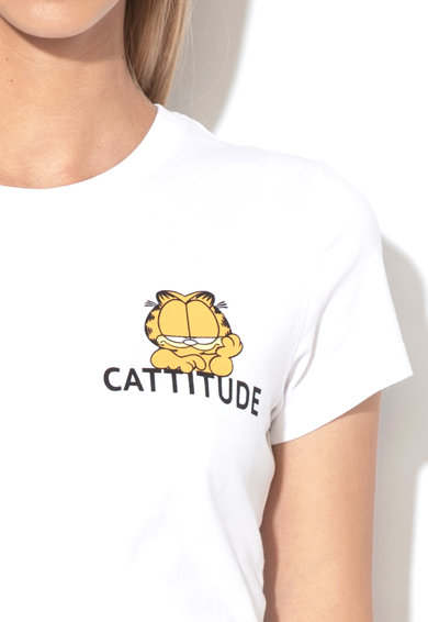 Only Tricou din bumbac organic Garfield Femei