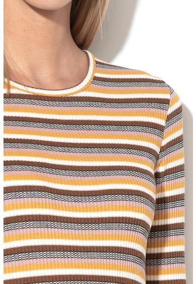 Only Rochie tricotata cu model in dungi Alva Femei