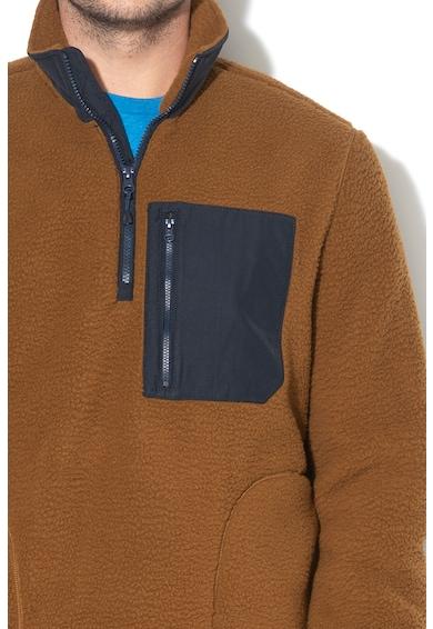 GAP Bluza sport din fleece cu fenta cu fermoar Barbati