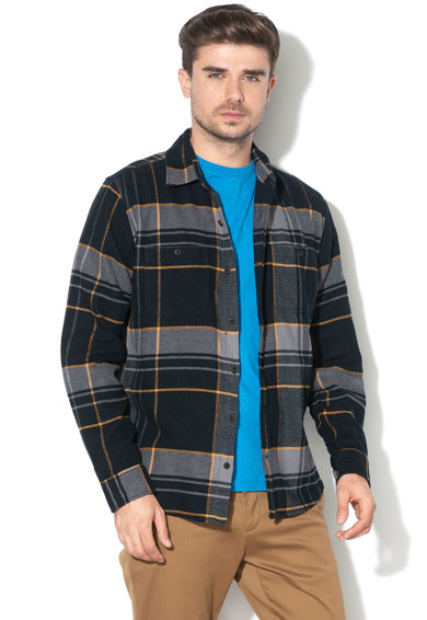 GAP Camasa standard fit de flanel, in carouri Barbati