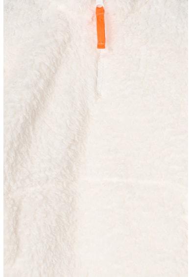GAP Bluza sport din material teddy, cu fermoar Fete