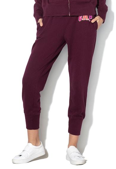 GAP Pantaloni sport cu aplicatie logo din terry B Femei