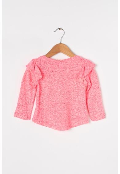 GAP Mintás finomkötött pulóver fodrokkal Lány