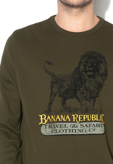 Banana Republic Mintás pulóver férfi