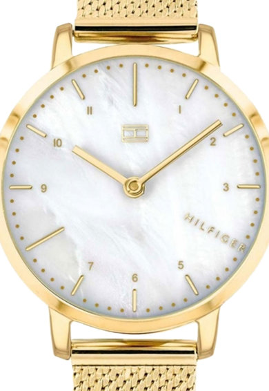 Tommy Hilfiger Кварцов часовник с мрежеста верижка Жени
