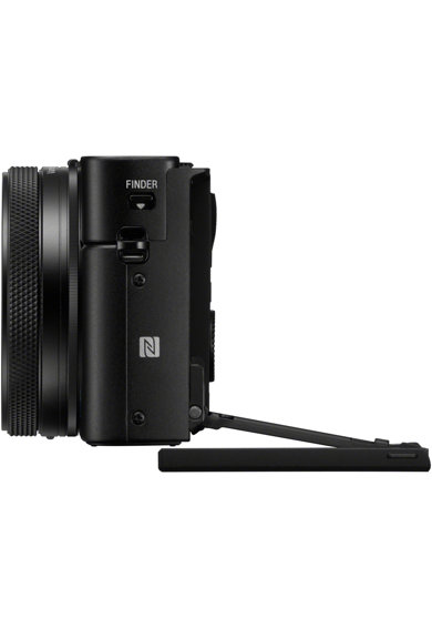 Sony Aparat foto digital  Cyber-Shot DSC-RX100VII, 20.2MP, 4K HDR, Senzor 1 inch, Obiectiv ZEISS 24-200mm, Ecran rabatabil, Negru Femei