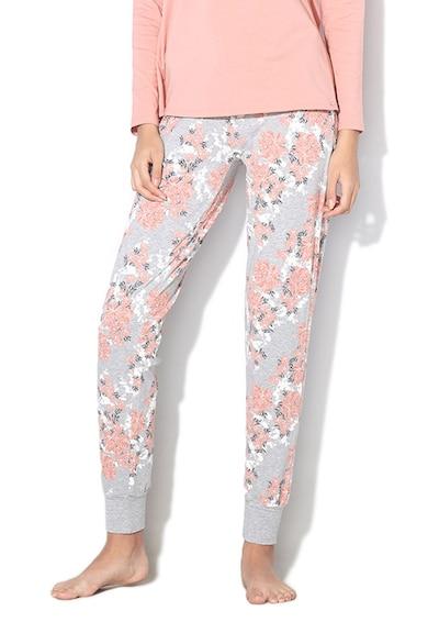 Skiny Pantaloni de pijama cu imprimeu floral Sleep&Dream Femei