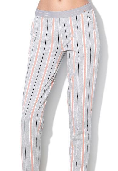 Skiny Csíkos pizsamanadrág női