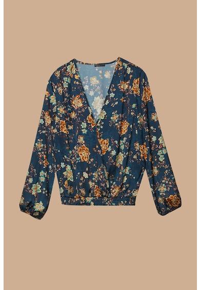Fiorella Rubino Bluza cu imprimeu floral Crossover Femei