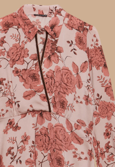Fiorella Rubino Bluza cu model floral Femei