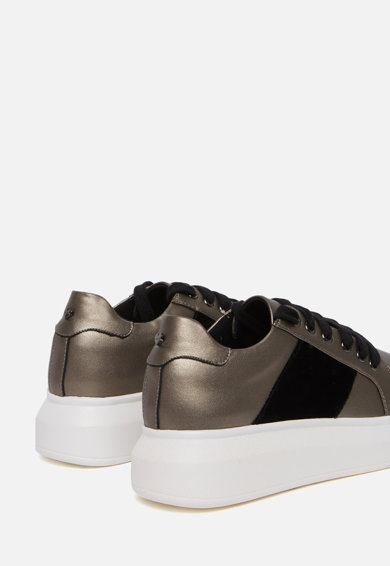 Motivi Pantofi sport flatform, de piele ecologica Femei