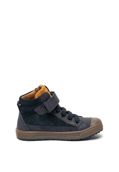 Primigi Pantofi sport inalti de piele si piele intoarsa Baieti