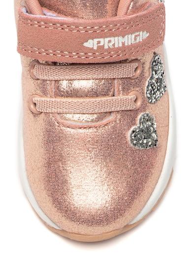 Primigi Pantofi sport cu velcro si aplicatii stralucitoare Fete