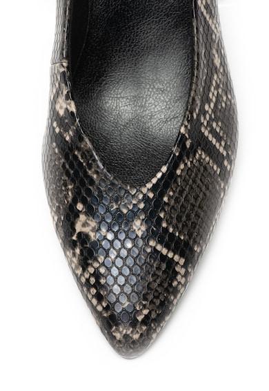 Marco Tozzi Обувки от еко кожа с шагрен Жени