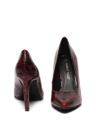 Marco Tozzi Pantofi de piele ecologica, cu varf ascutit Femei