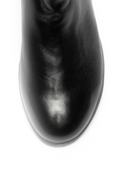 Marco Tozzi Ghete de piele cu insertii elastice Femei