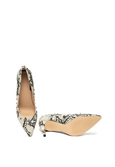 Guess Pantofi cu model piele de reptila si aplicatii cu tinte Femei