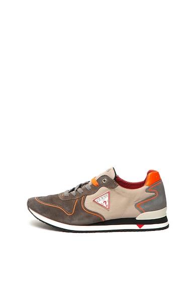 Guess Спортни обувки с велур Мъже