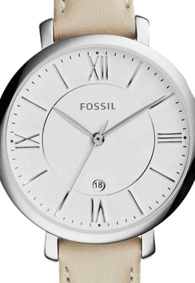 Fossil Ceas cu o curea de piele Jacqueline Femei