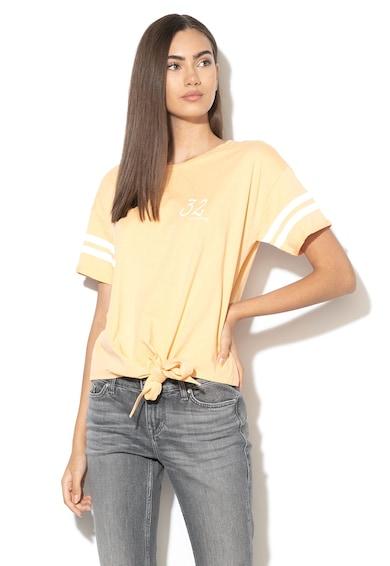 Mustang Laza fazonú póló megkötős résszel az alsó szegélyen női