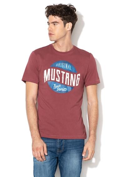 Mustang Tricou cu imprimeu logo Crack Barbati