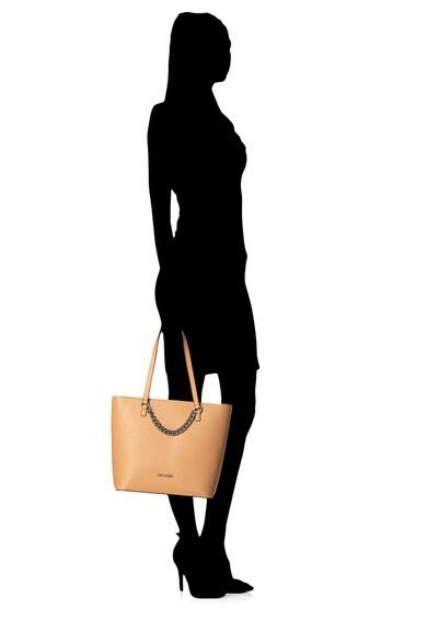 Love Moschino Geanta tote de piele ecologica, cu lant decorativ Femei
