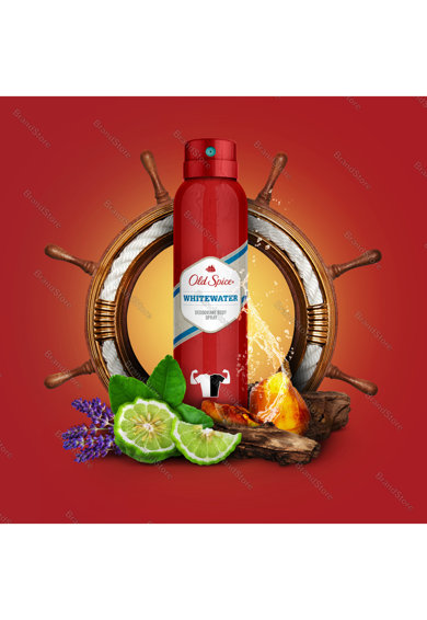 Old Spice Deodorant spray  Whitewater, 150 ml Femei