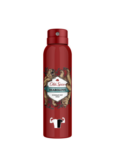 Old Spice Deodorant spray  Bearglove, 150 ml Femei