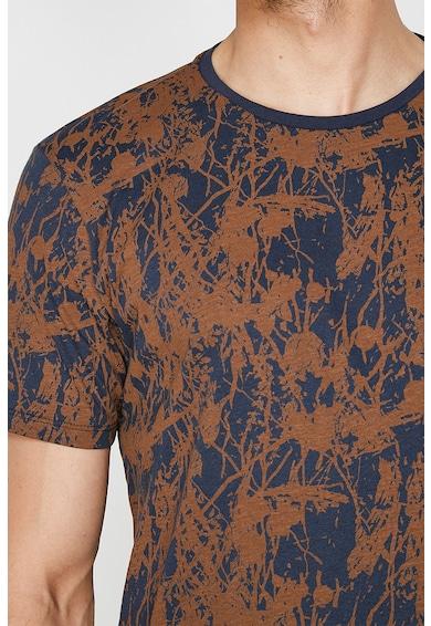 KOTON Tricou cu imprimeu abstract Barbati