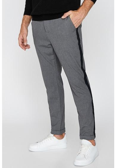 KOTON Pantaloni cu vipusca laterala Barbati