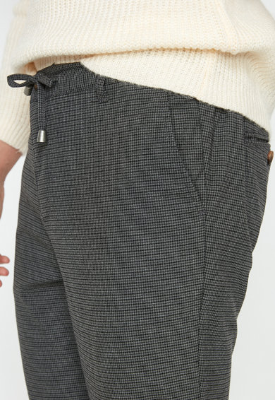 KOTON Pantaloni slim fit cu snur pentru ajustare Barbati