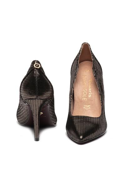 Tamaris Pantofi cu varf ascutit si accente metalizate Femei