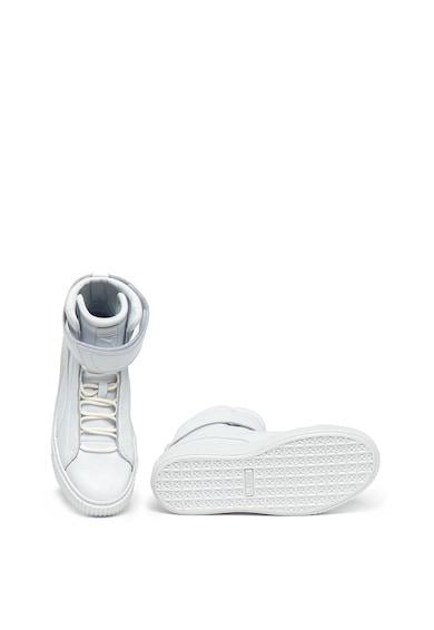 Puma Pantofi sport inalti de piele intoarsa, cu platforma Femei