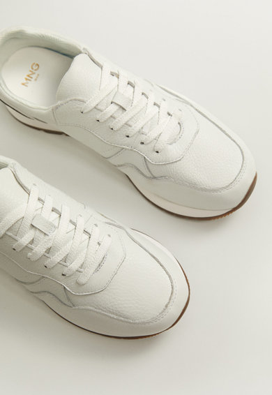 Mango Pantofi sport de piele Runlea Barbati