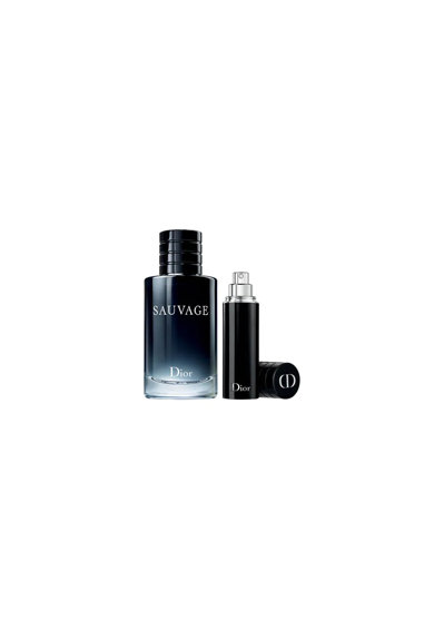 DIOR Set Christian  Sauvage, Barbati: Apa de Toaleta, 100 ml + Apa de Toaleta, 10 ml Barbati