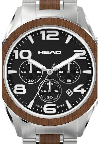 Head Ceas cronograf cu bratara metalica Barbati