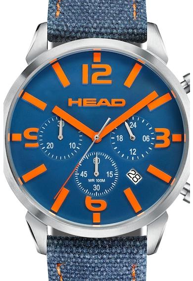Head Ceas cronograf quartz cu o curea din denim Barbati