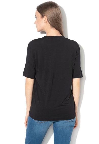 Love Moschino Tricou din amestec de modal, cu imprimeu logo Femei